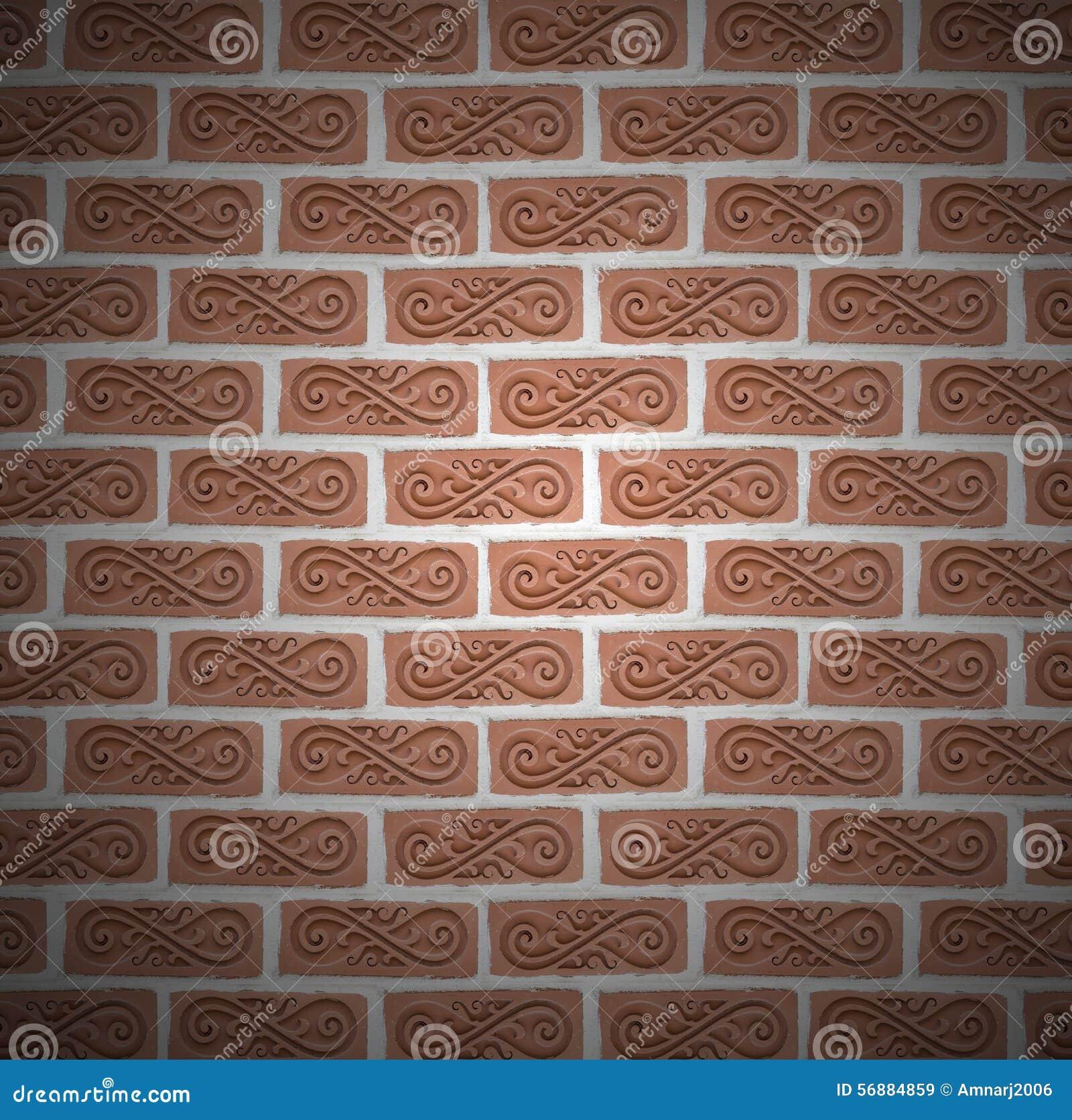 Vecchia priorità bassa del muro di mattoni