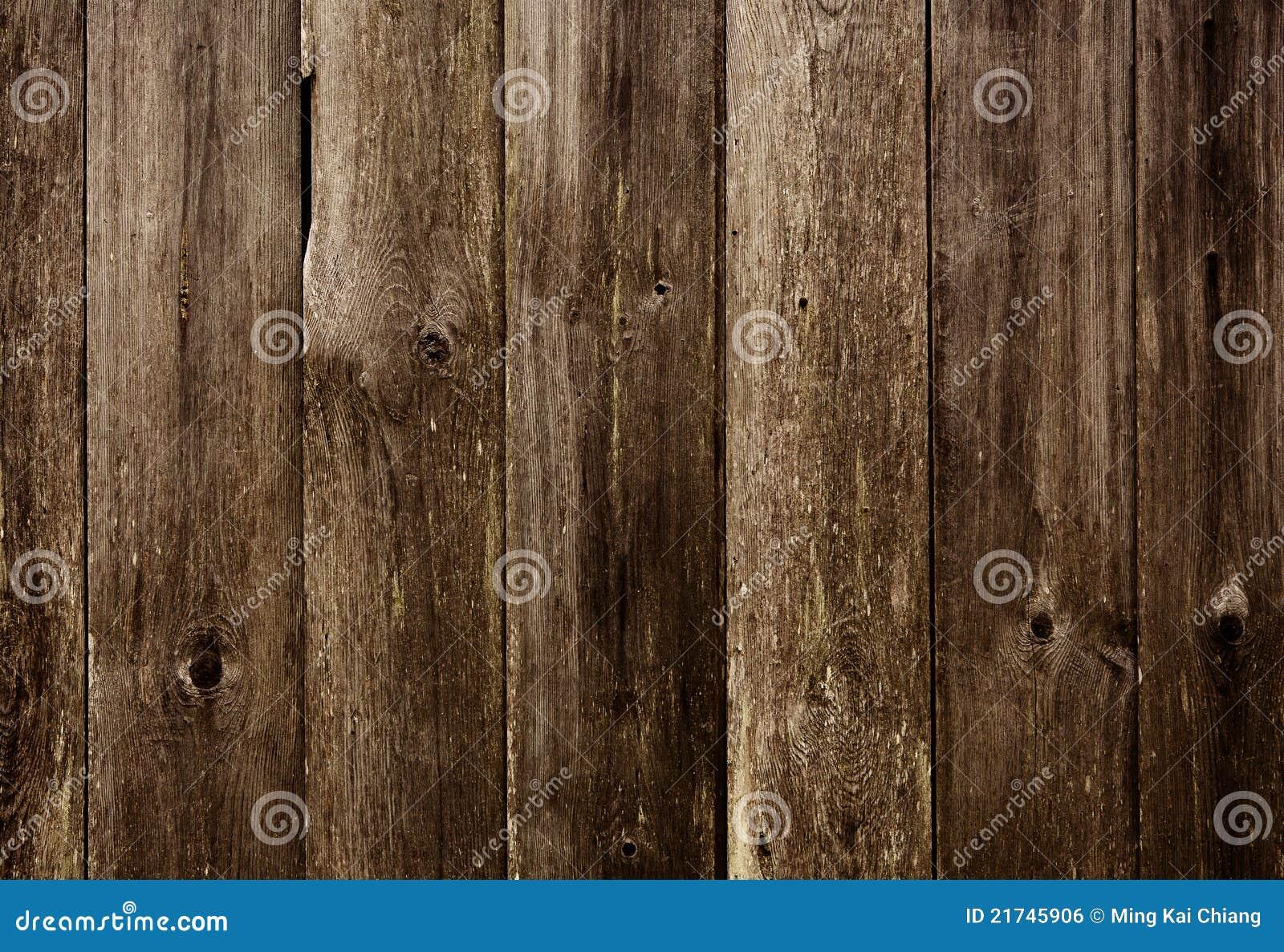 Vecchia priorità bassa di legno scura
