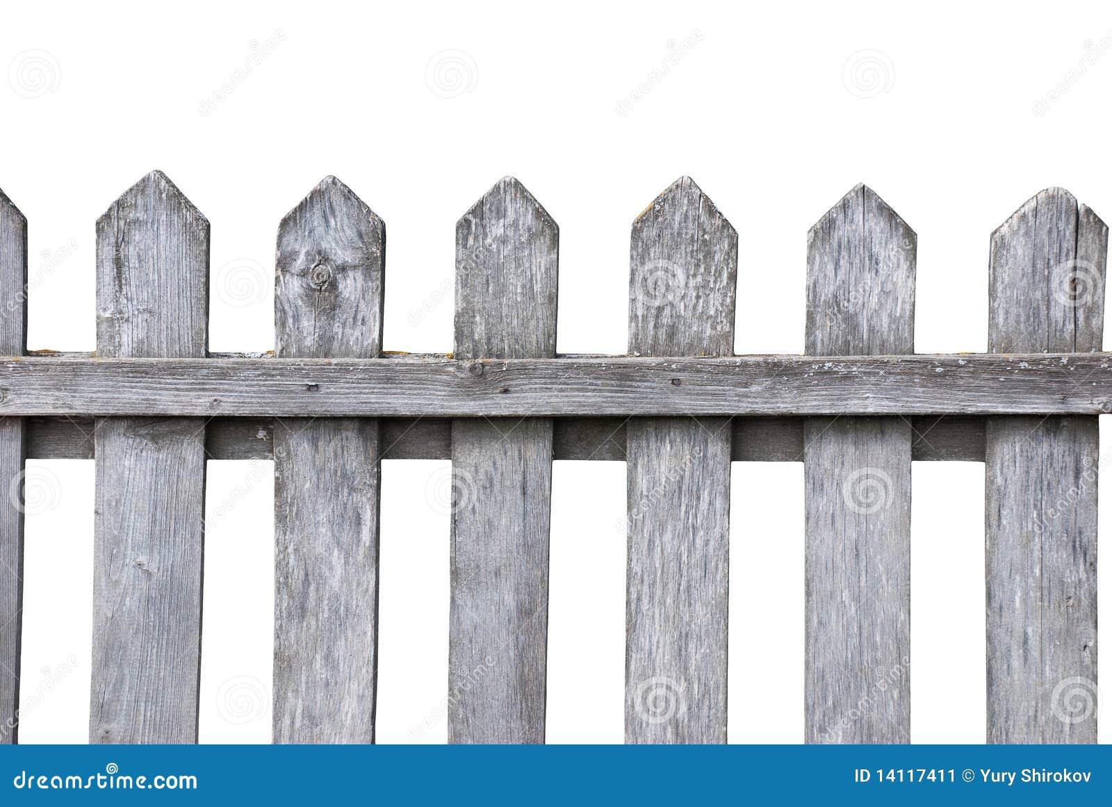 Vecchia rete fissa di legno