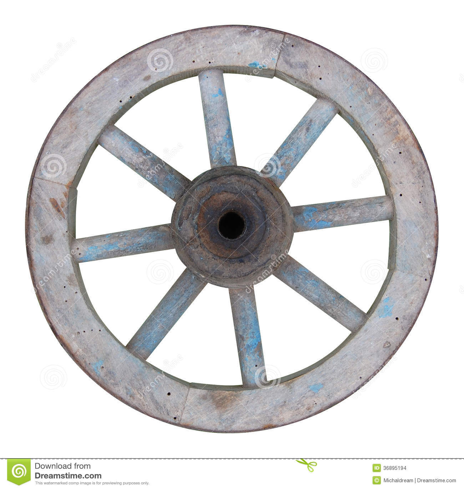 Download Vecchia Ruota Spoked Di Legno Fotografia Stock - Immagine di camion, wooden: 36895194