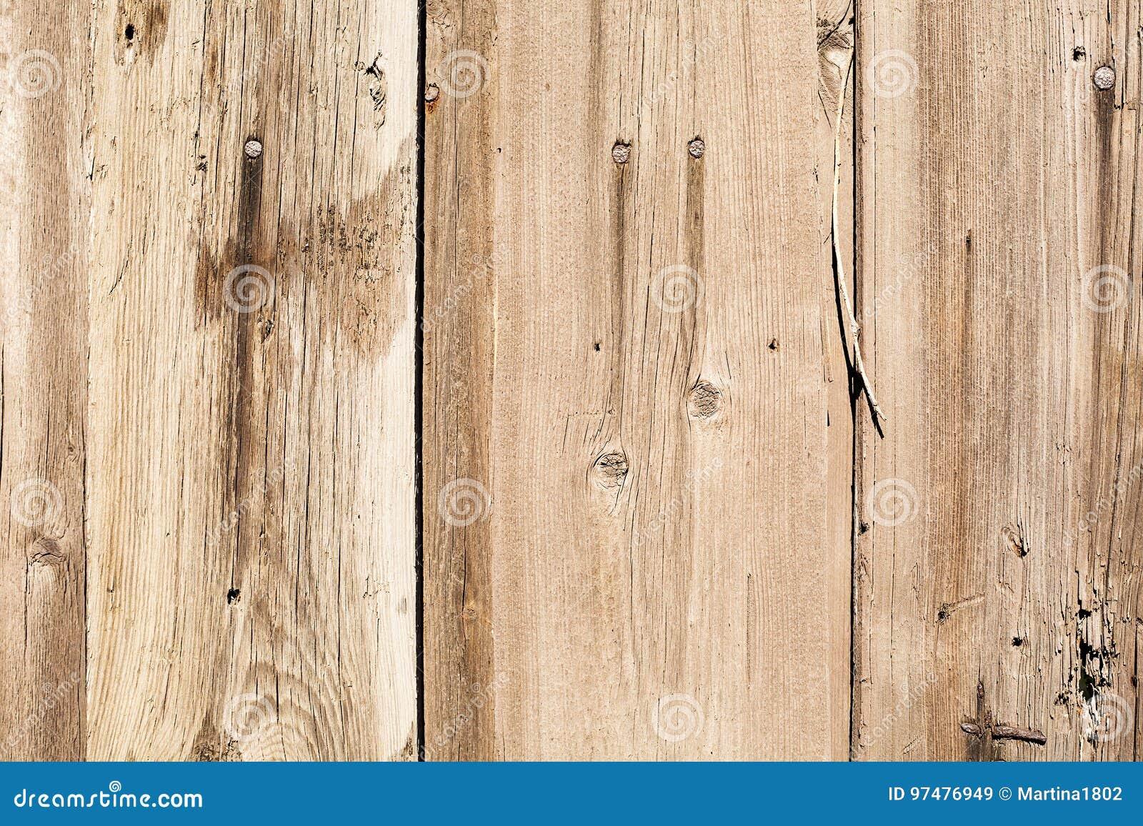 Vecchia struttura di legno di lerciume