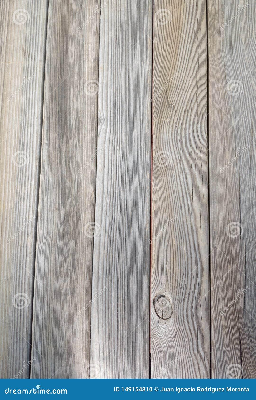 Vecchia struttura di legno marrone del pavimento con effetto di prospettiva