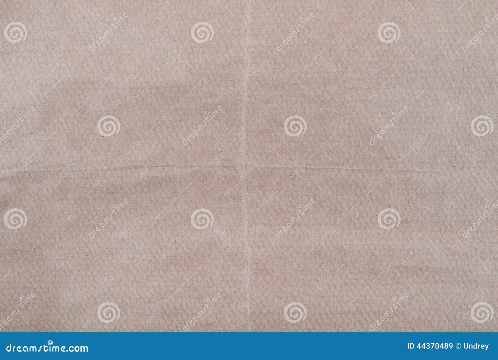 Vecchia struttura di marrone sgualcito approssimativo del mestiere riciclato
