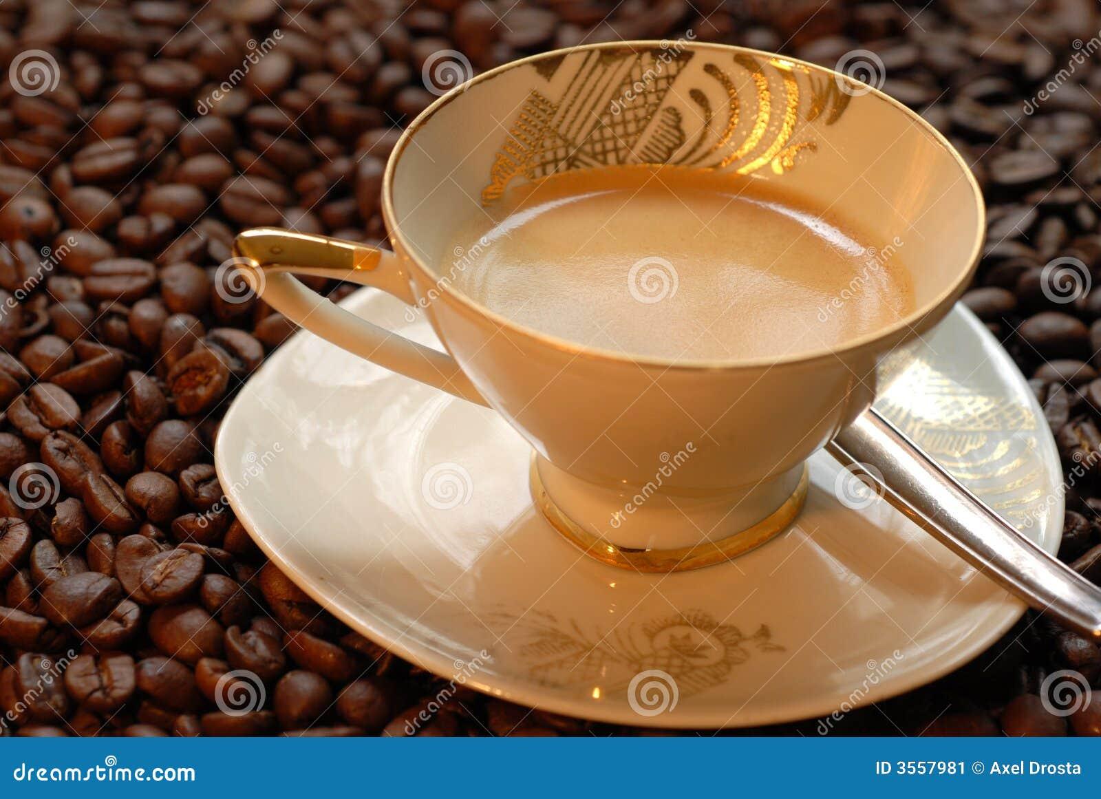 Vecchia tazza di caffè