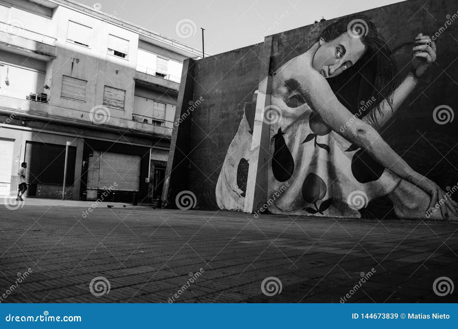Vecchia vicinanza di Montevideo, Uruguay