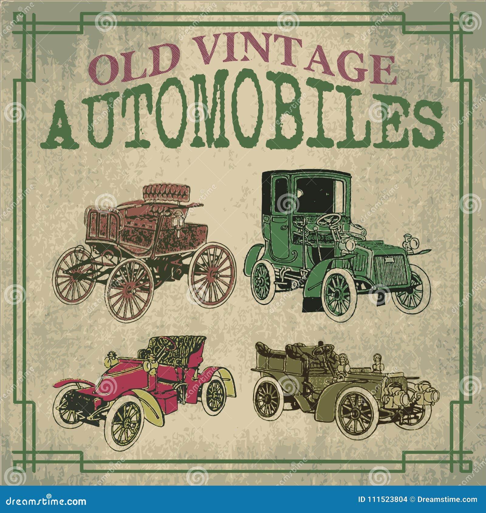 Vecchie automobili d annata