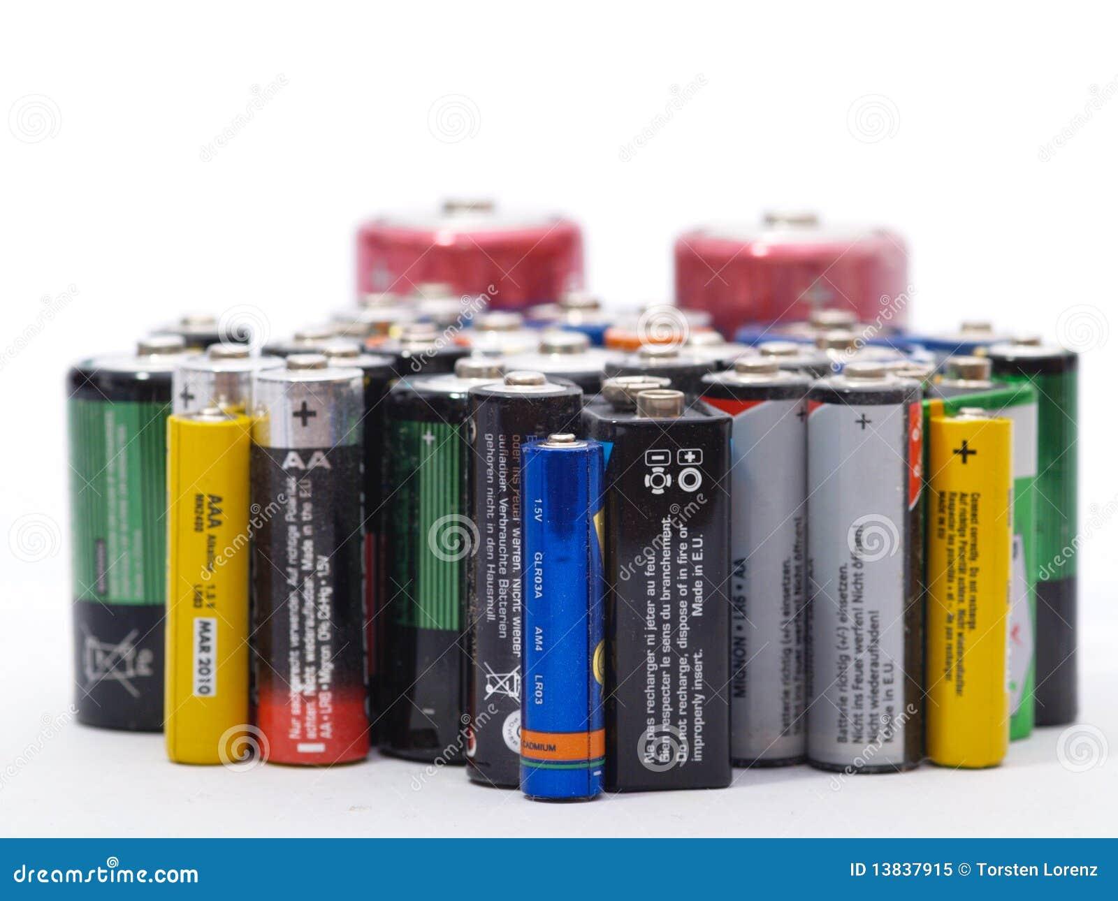 Vecchie batterie