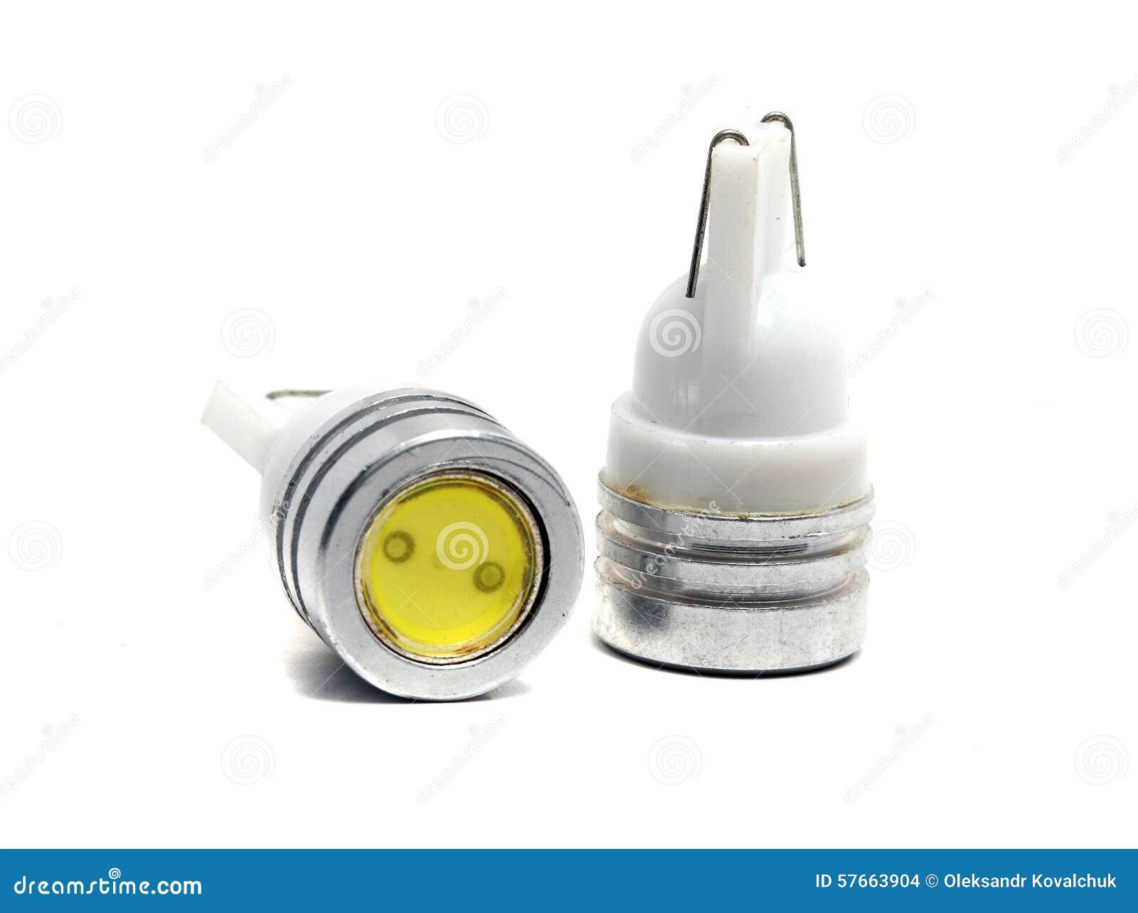 vecchie piccole lampadine del led fotografia stock