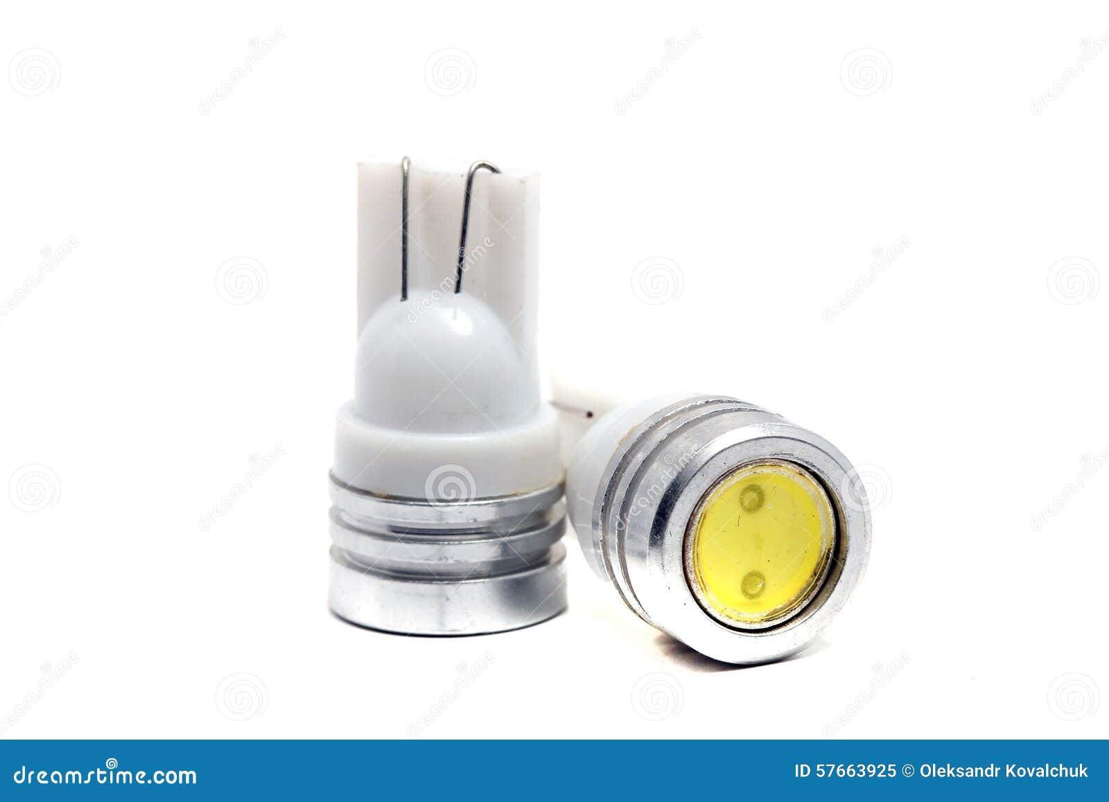 vecchie piccole lampadine del led immagine stock