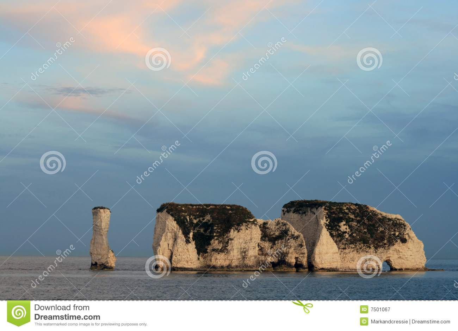 Vecchie rocce del Harry, Swanage