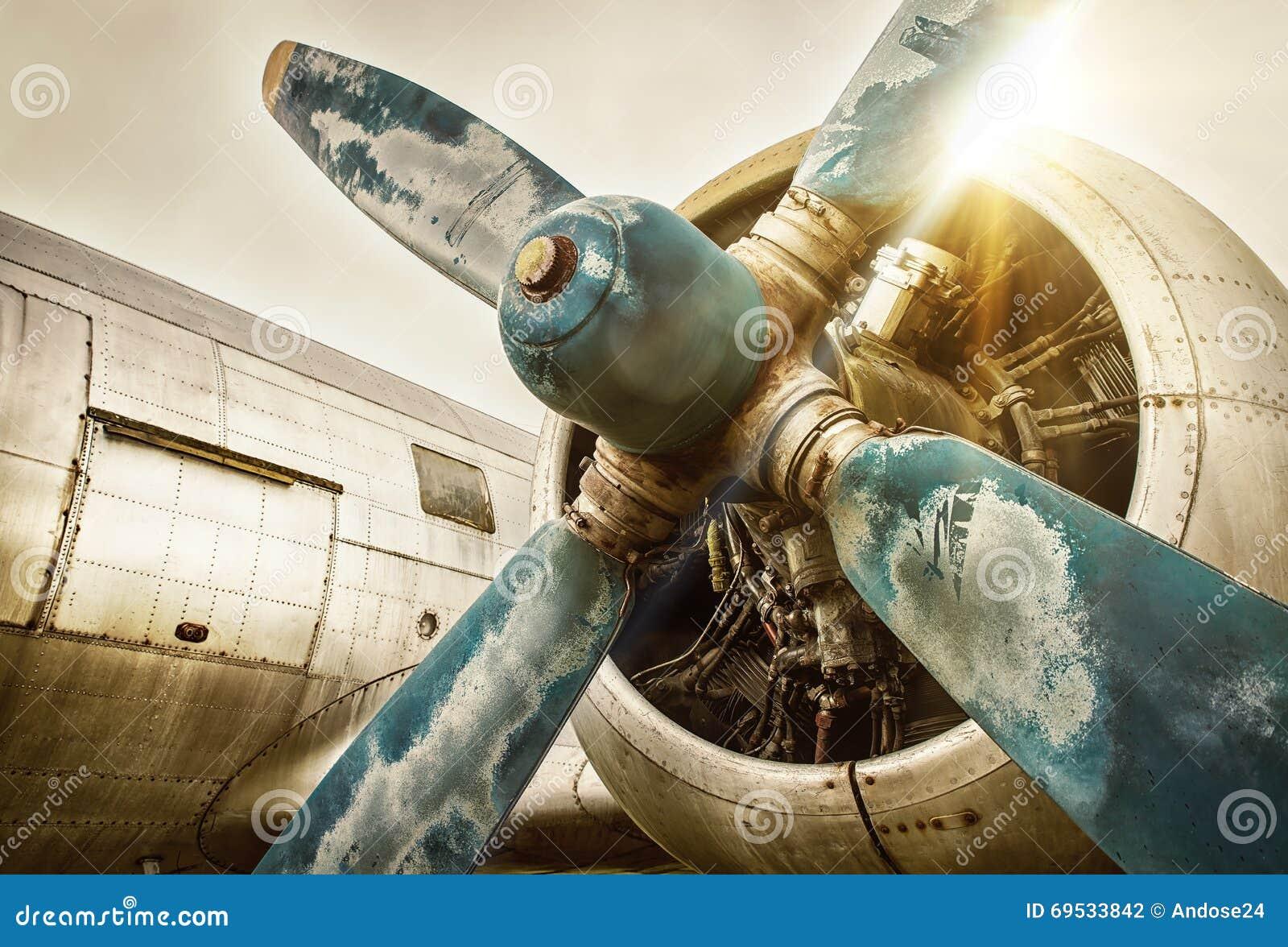 Vecchio aeroplano