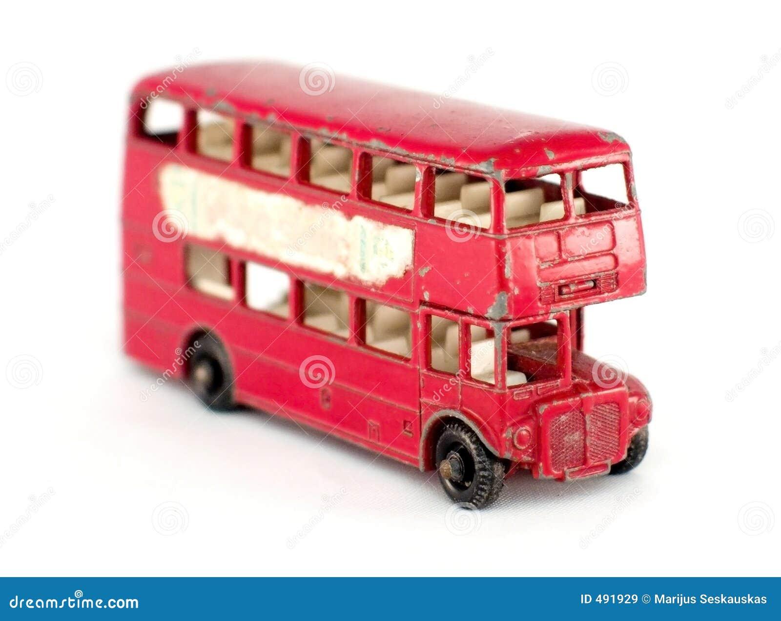 Vecchio autobus a due piani immagini stock libere da for Cianografie a due piani