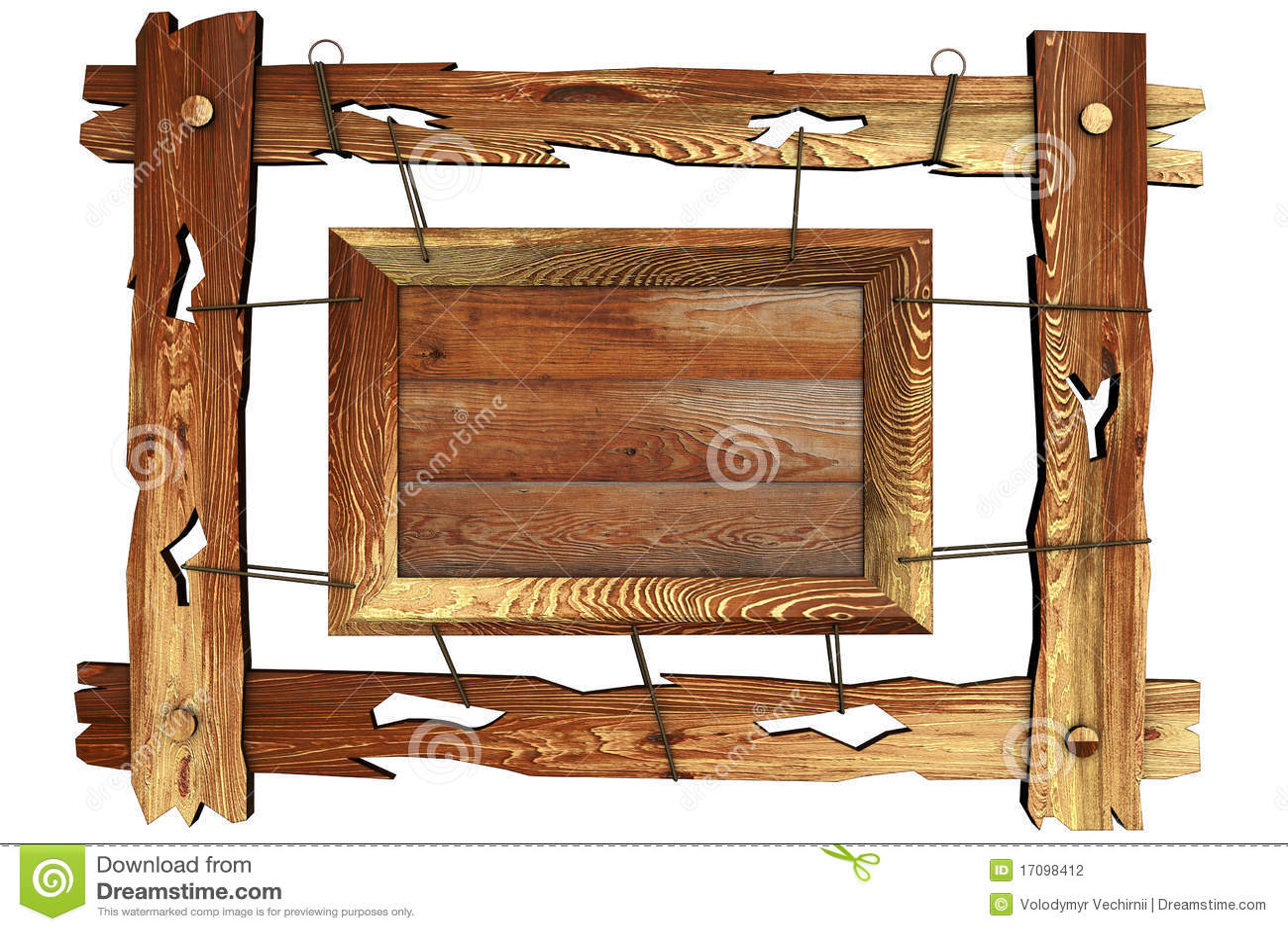 Vecchio blocco per grafici di legno con la corda