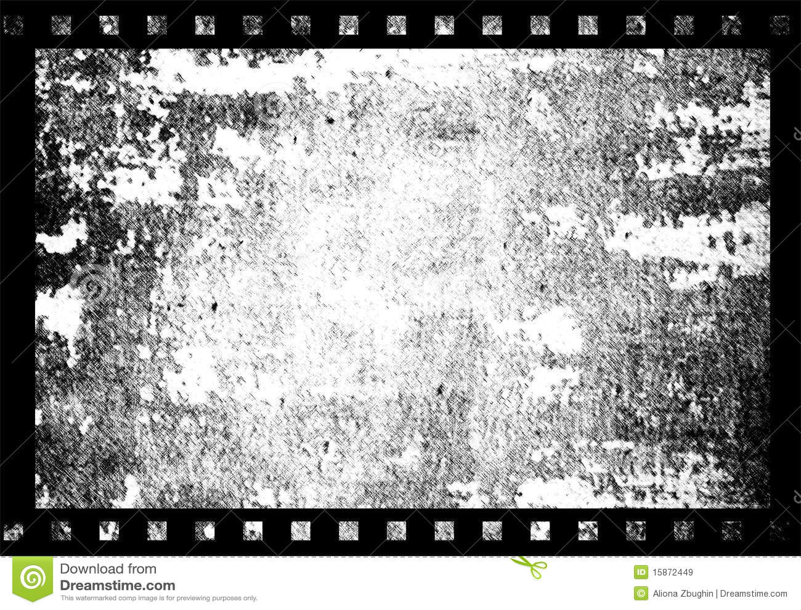 Vecchio blocco per grafici di pellicola