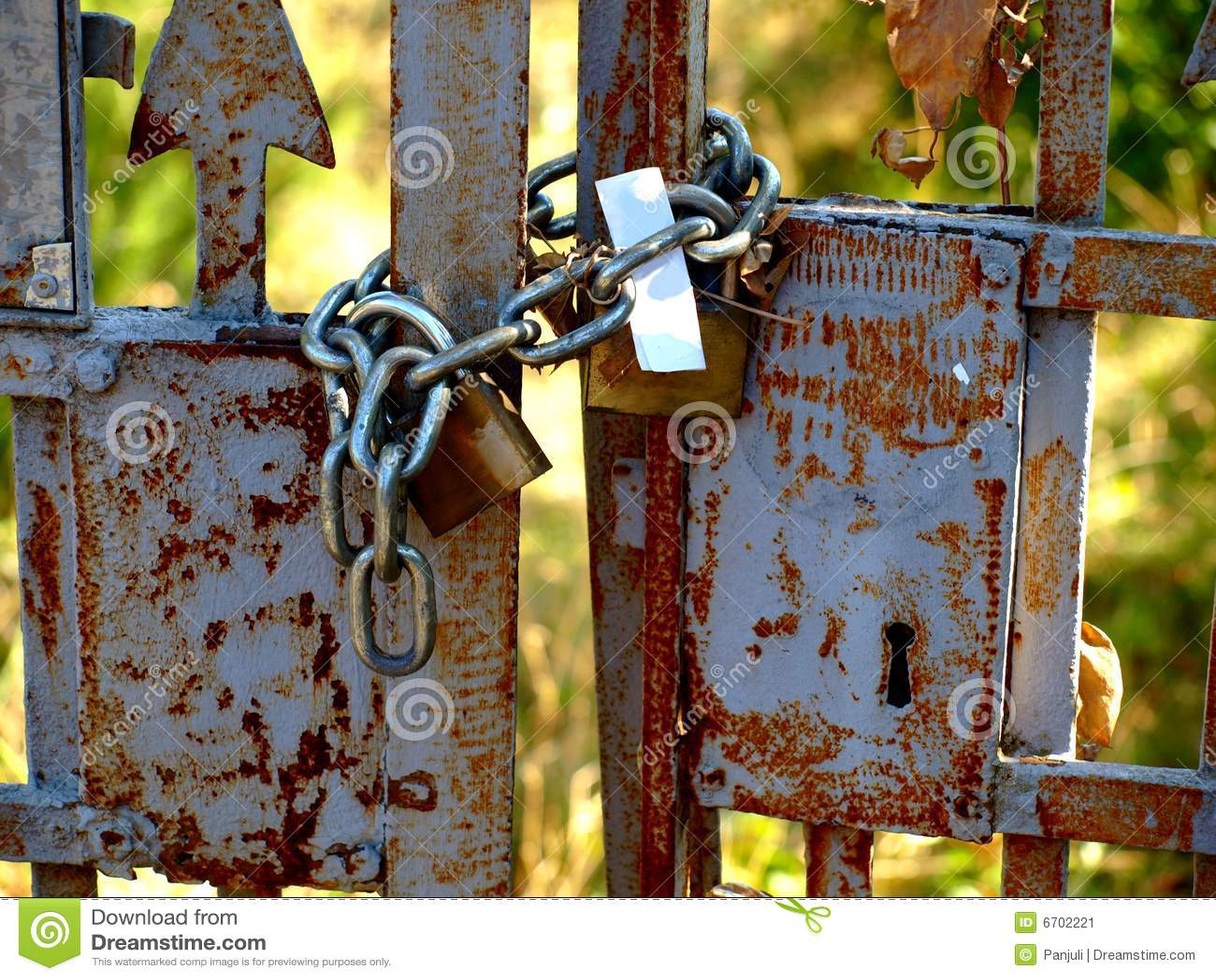 Vecchio cancello