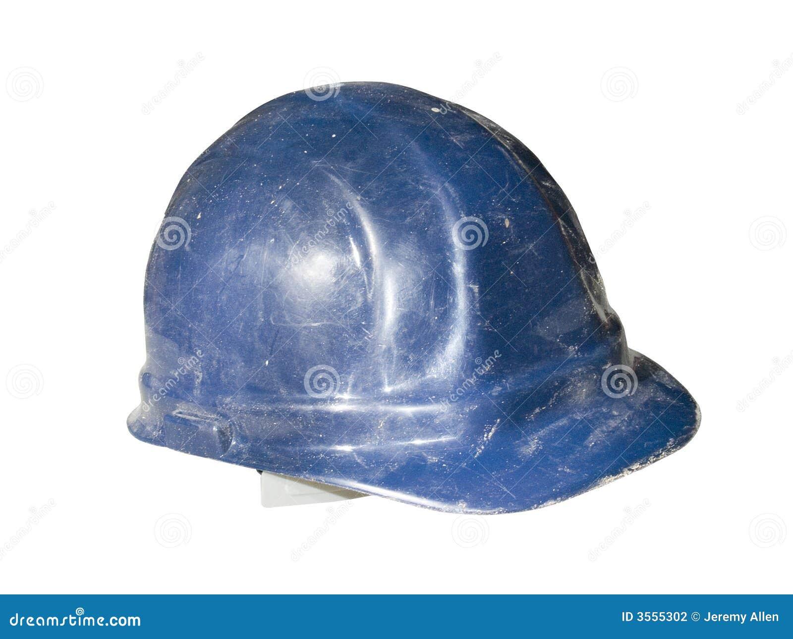Vecchio cappello duro isolato
