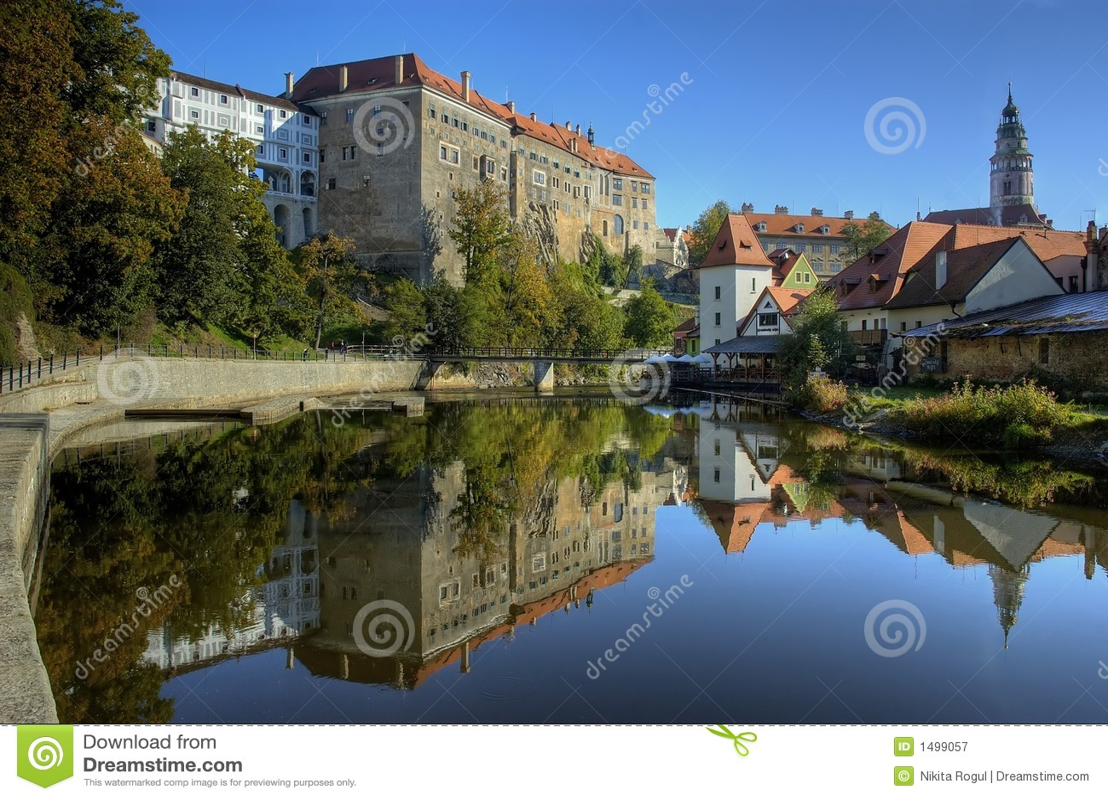 Vecchio castello in Cesky Krumlov