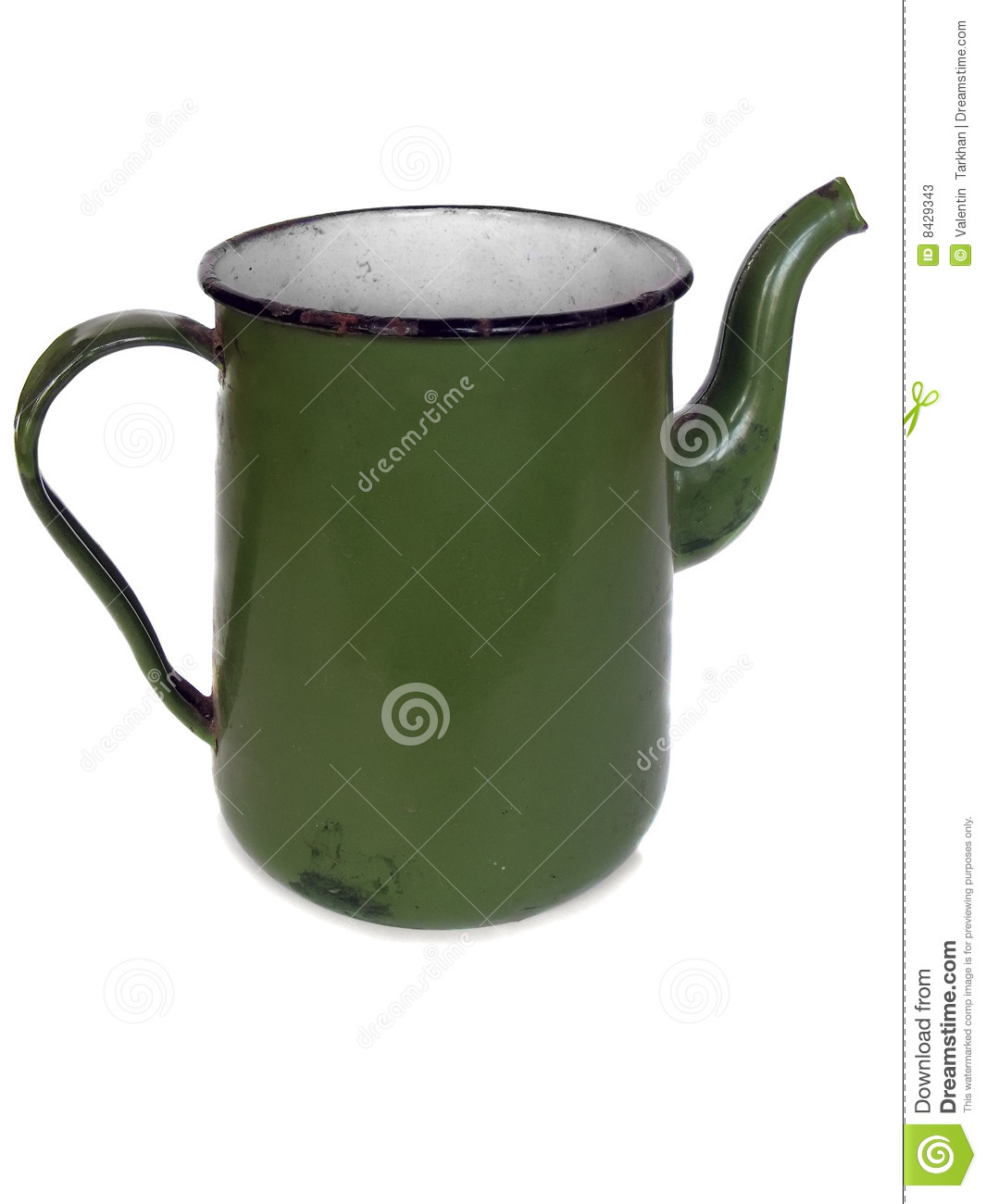 Vecchio coffee-pot verde
