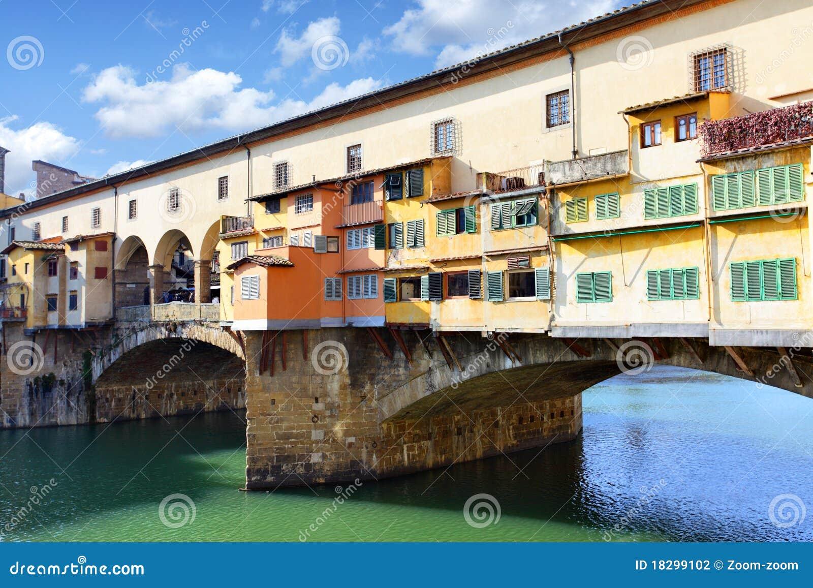 Vecchio för broflorence ponte