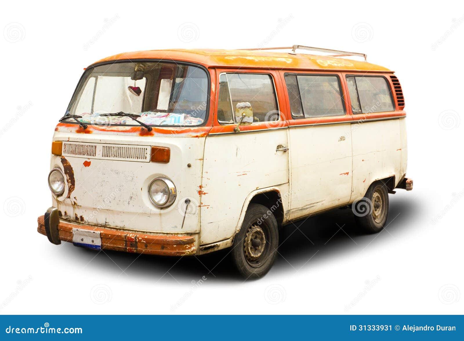 Vecchio furgone
