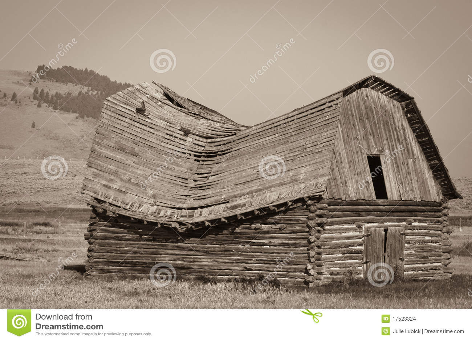 Vecchio granaio del Montana