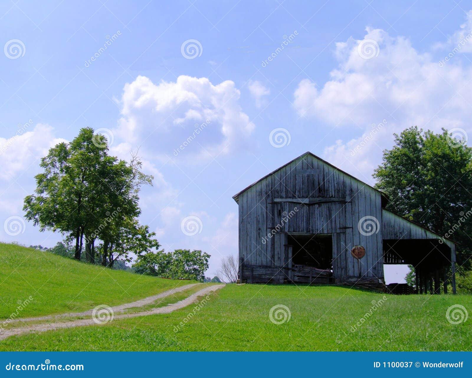 Vecchio granaio nel Kentucky