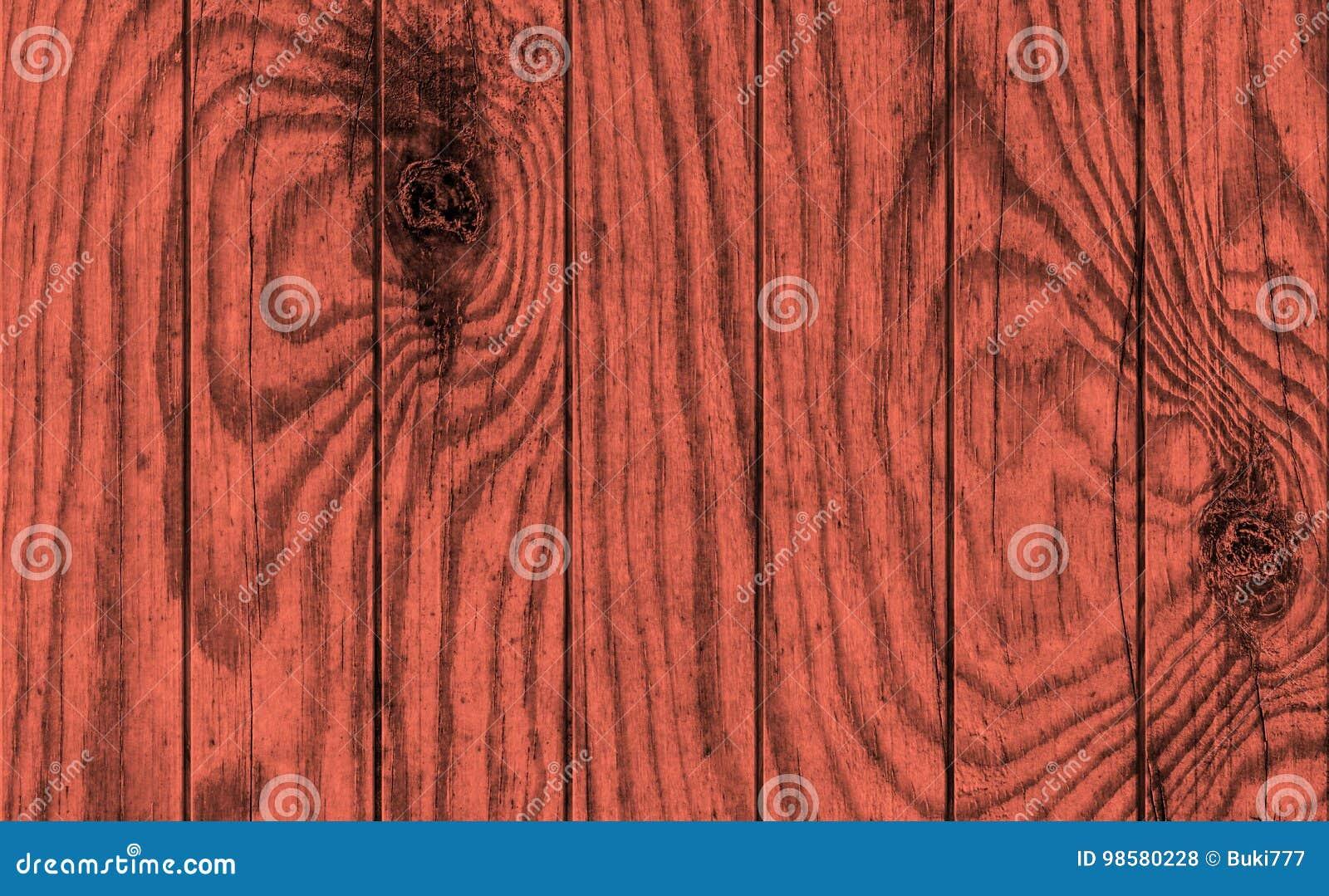 Vecchio legno di pino rosso marrone rossiccio annodato incrinato stagionato che pavimenta struttura rustica di lerciume
