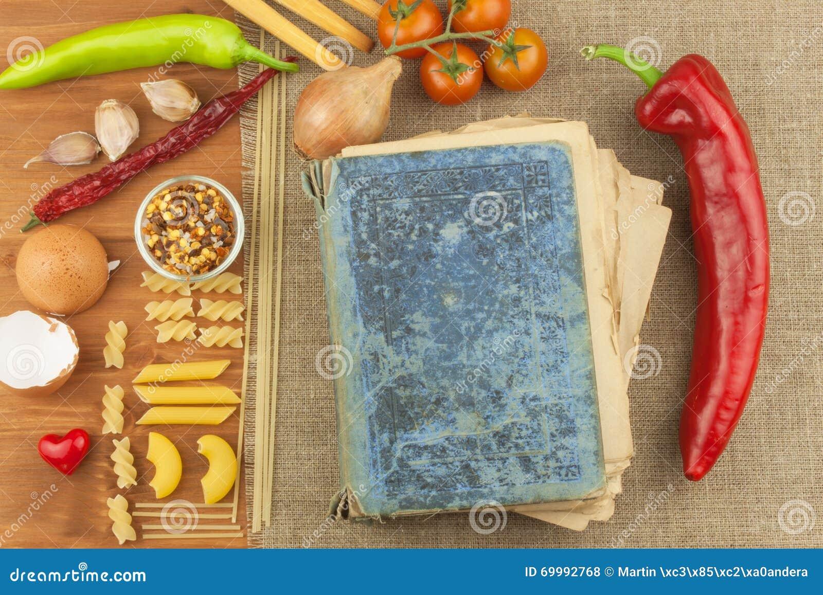 Vecchio Libro Delle Ricette Per Pasta Libro Di Ricetta ...