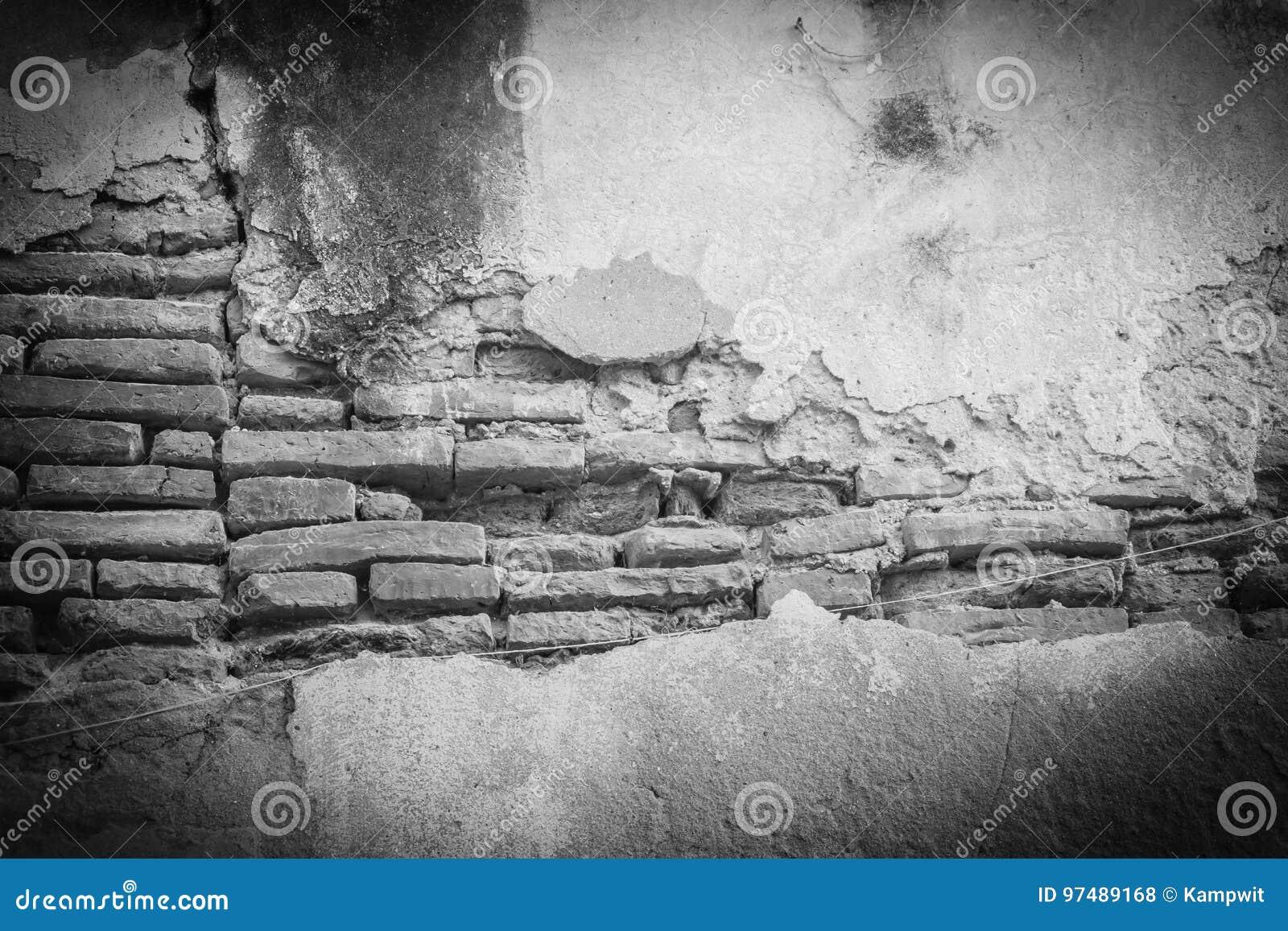 Vecchio modello Grungy del muro di mattoni Backgroun del mattone invecchiato rosso astratto