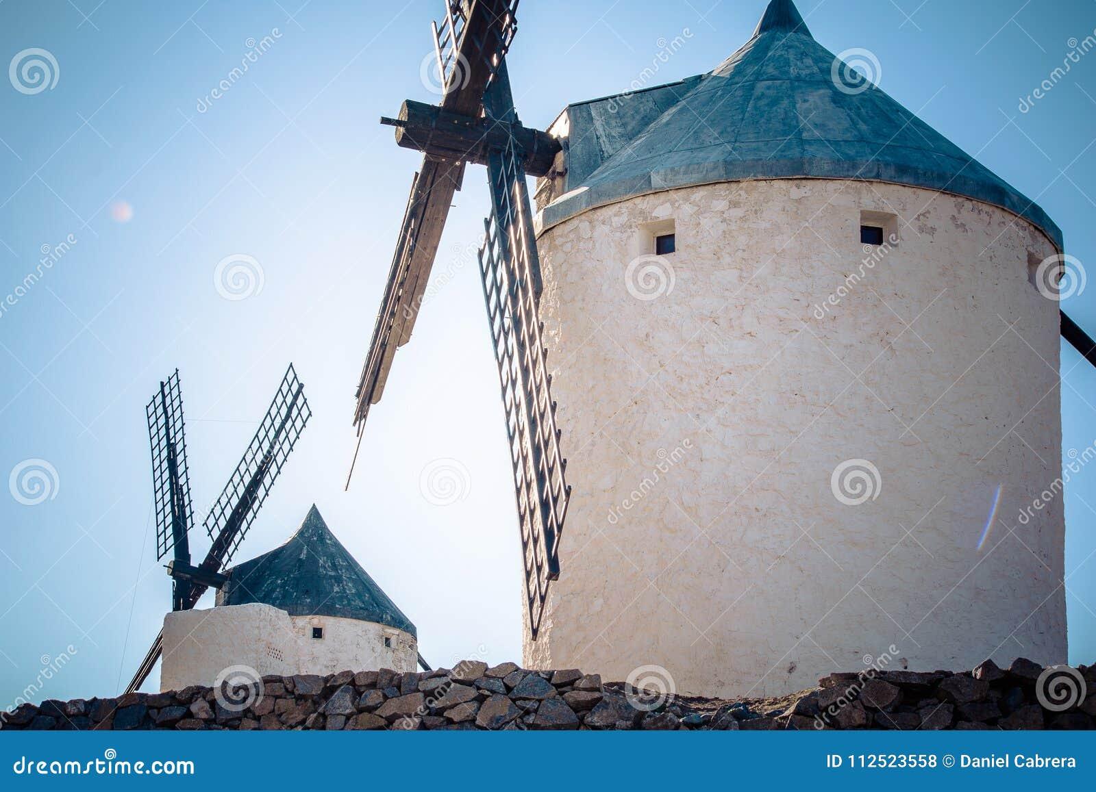 Vecchio mulino a vento a Consuegra - Toledo Spain