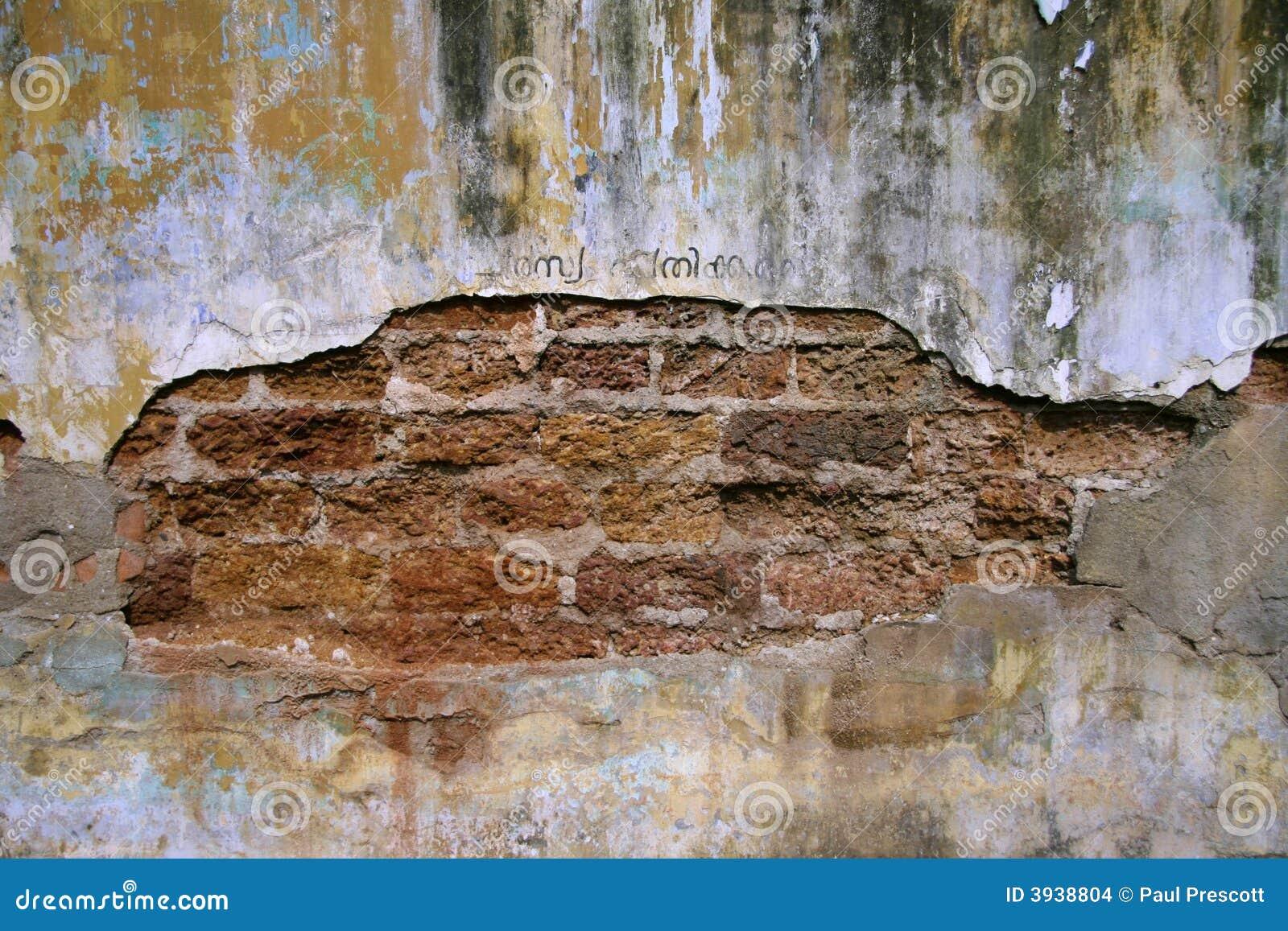 Vecchio muro di mattoni immagini stock immagine 3938804 for Disegni di garage di mattoni