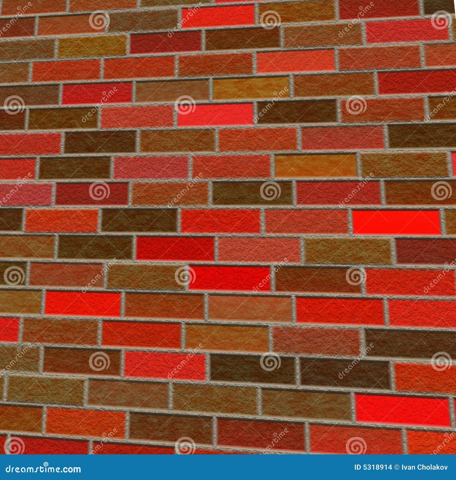 Download Vecchio muro di mattoni illustrazione di stock. Illustrazione di brown - 5318914