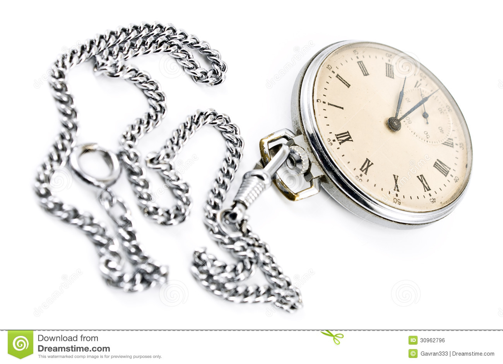 orologio con catena