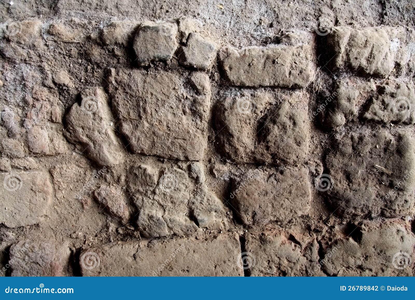 Vecchio pavimento del granaio