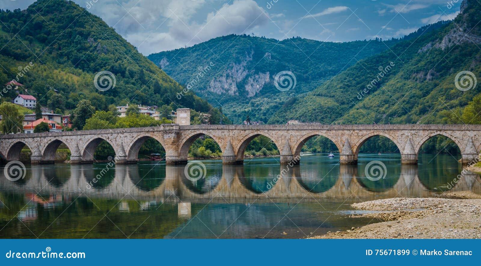 Vecchio ponte Visegrad, Bosnia-Erzegovina