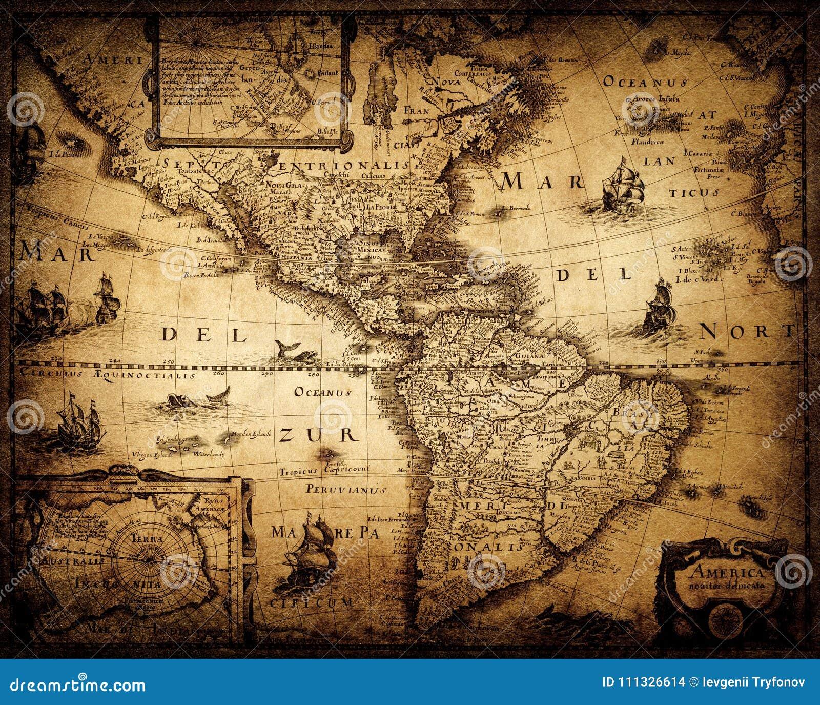 Vecchio programma dell annata Pirata e fondo nautico di lerciume di tema