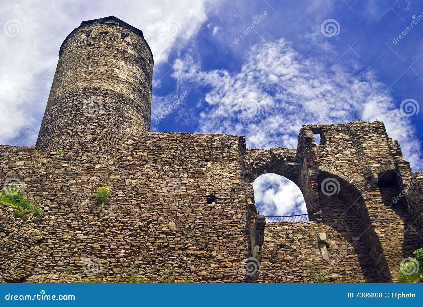 Vecchio ruine del castello