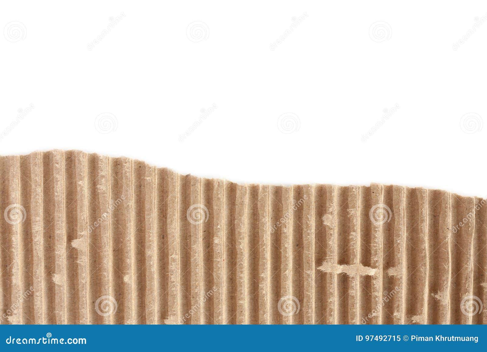 Vecchio strato strutturato lacerato del cartone