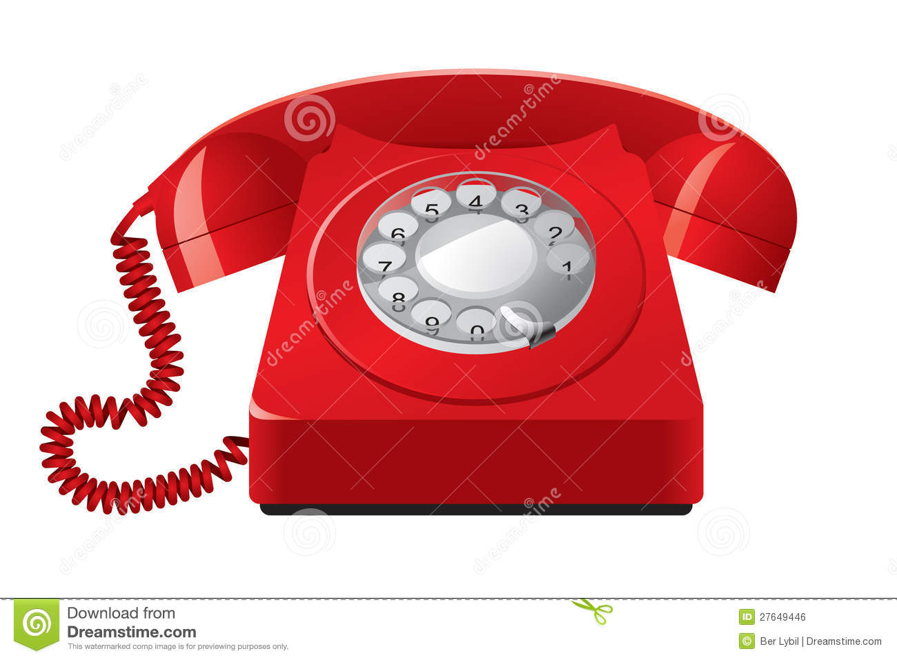 Telefono rosso red telephone 3
