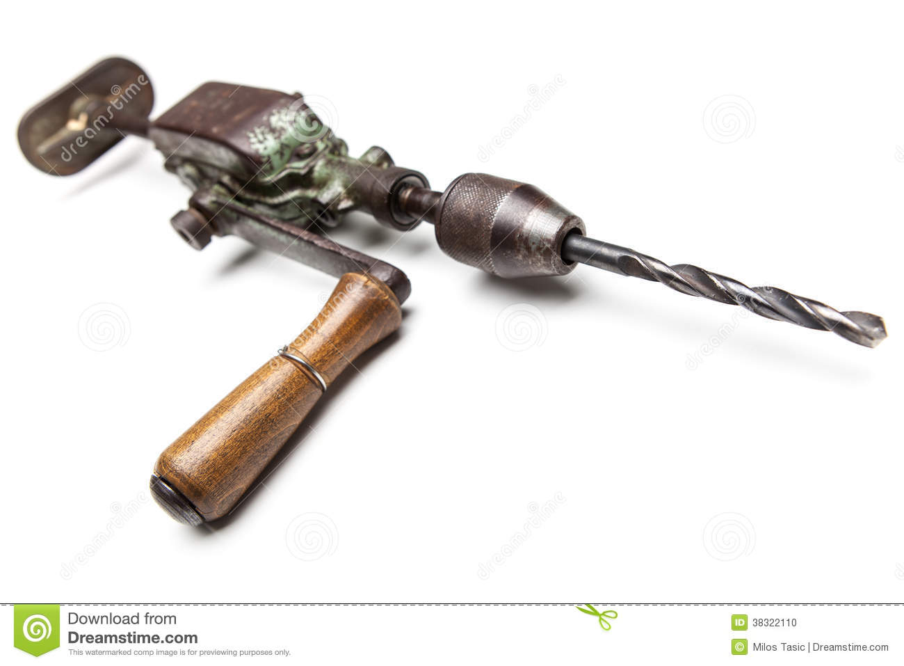Old Fashioned Wood Drill