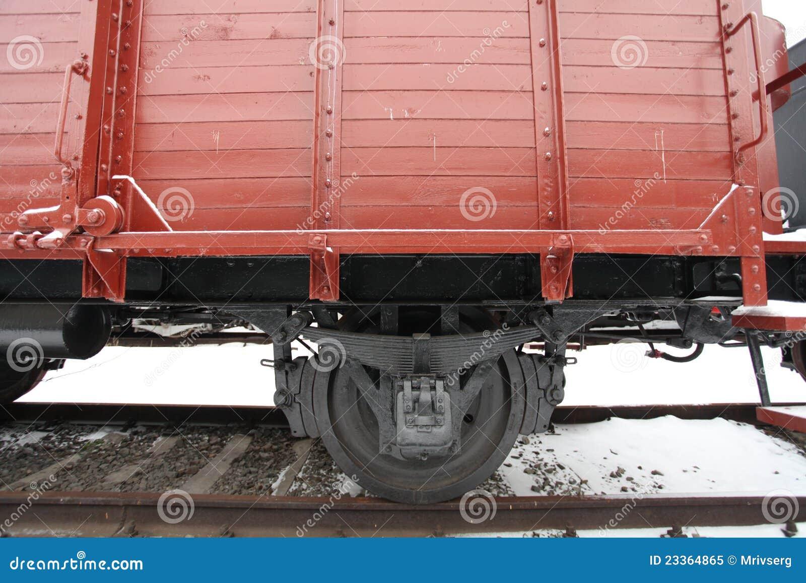 Vecchio vagone coperto