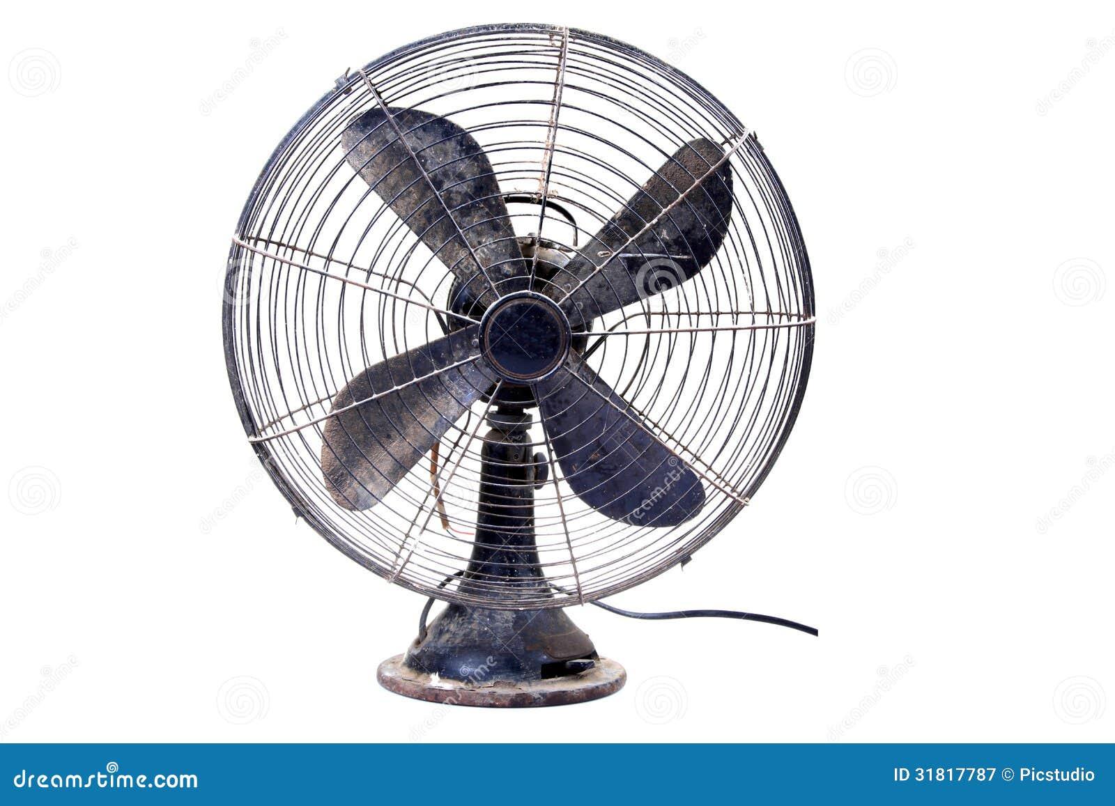 Vecchio ventilatore da tavolo immagine stock immagine di