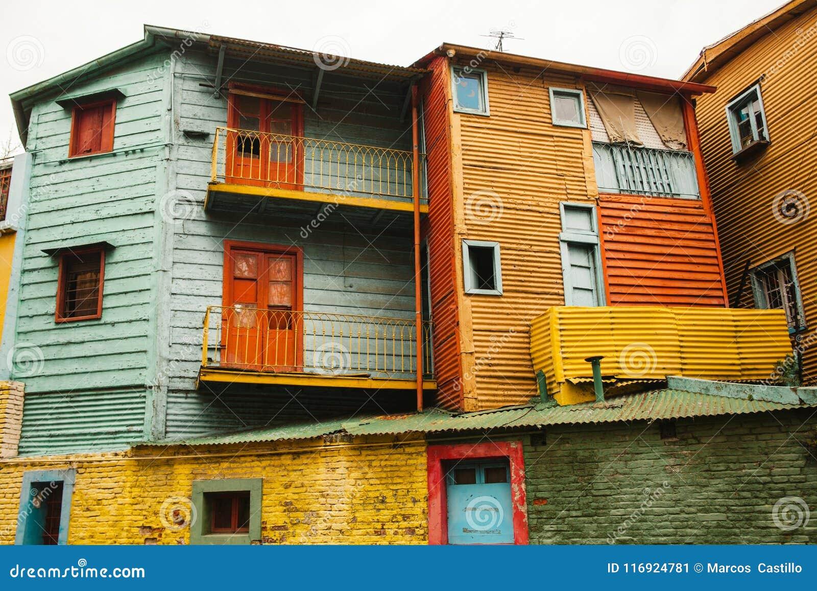 Vecindad de Boca del La de Buenos Aires la Argentina