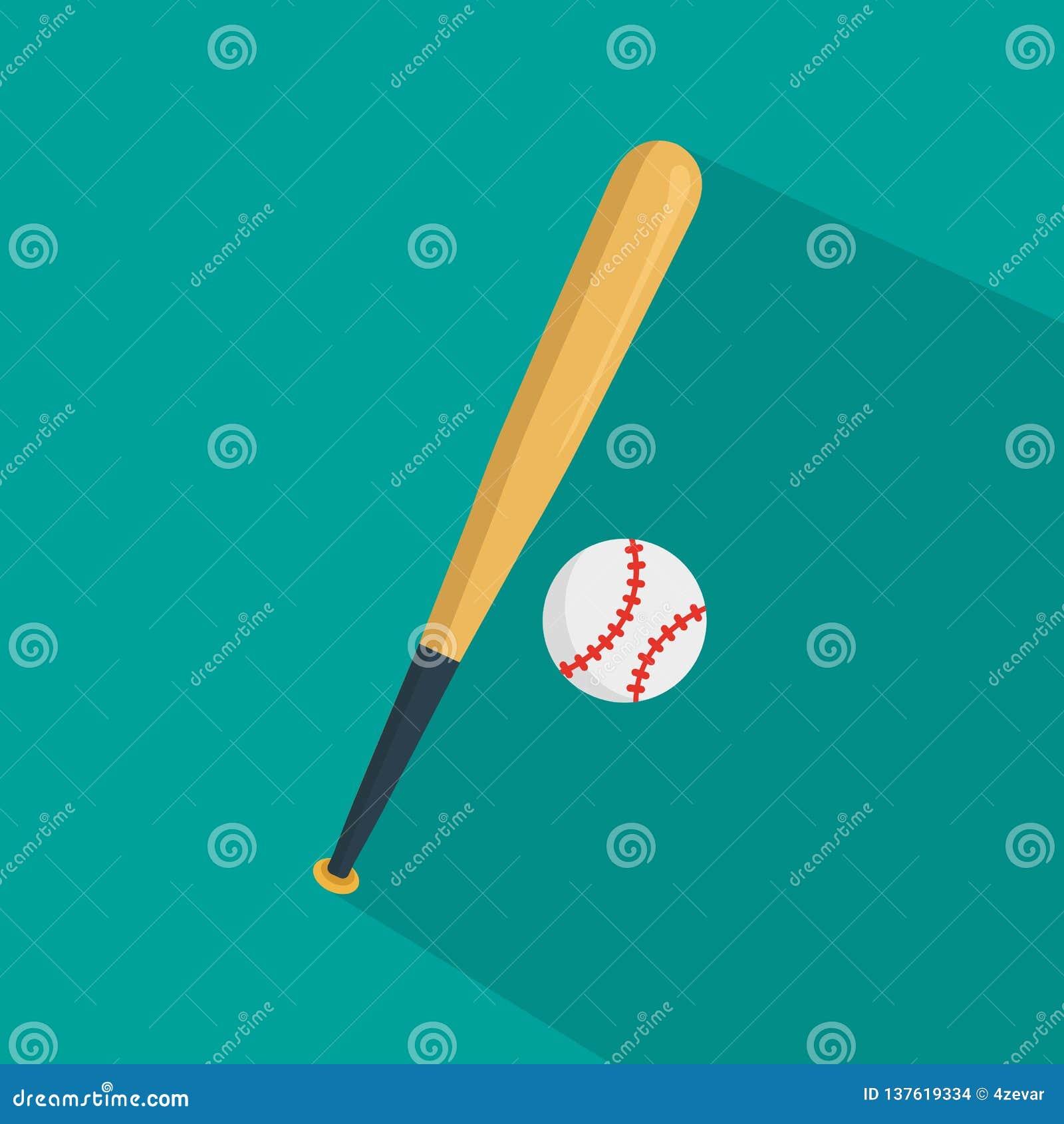 Vecteur d icône de base-ball