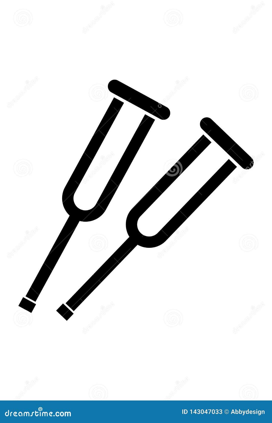 Vecteur d icône de Chrutches