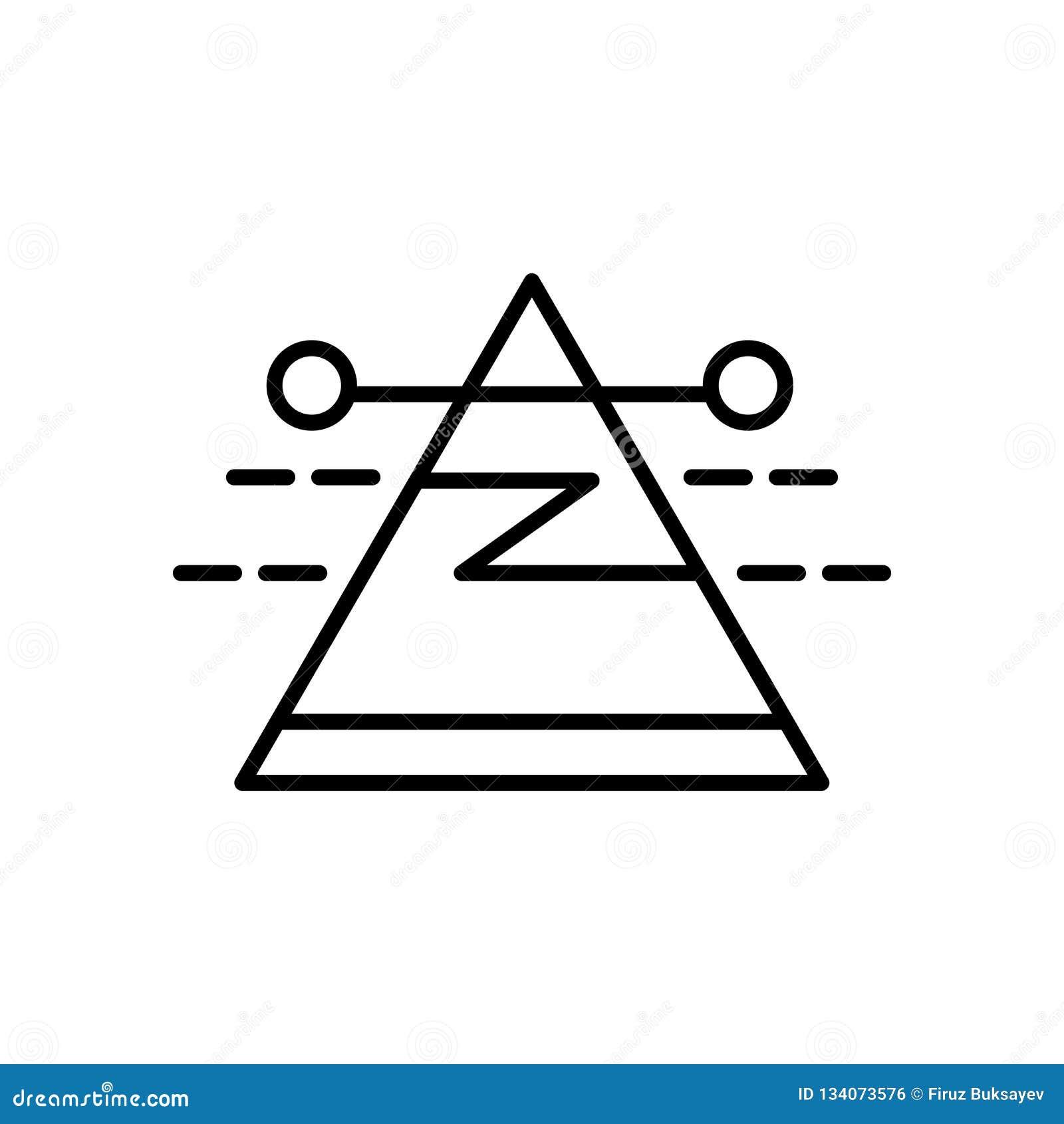 Vecteur d icône de dispersion d isolement sur le fond, le signe de dispersion, le signe et les symboles blancs dans le style liné