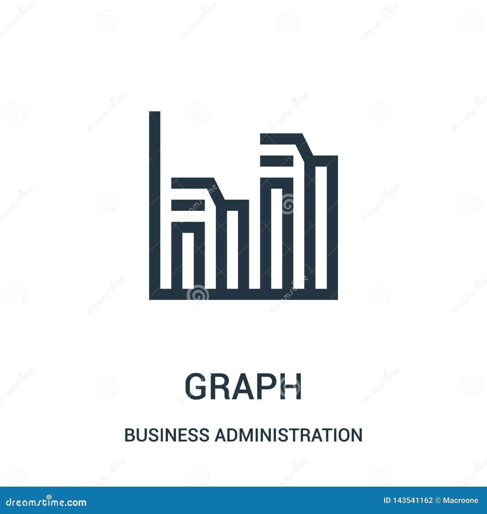 Vecteur d icône de graphique de collection de gestion Mince illustration de vecteur d ic?ne d ensemble de graphe lin?aire