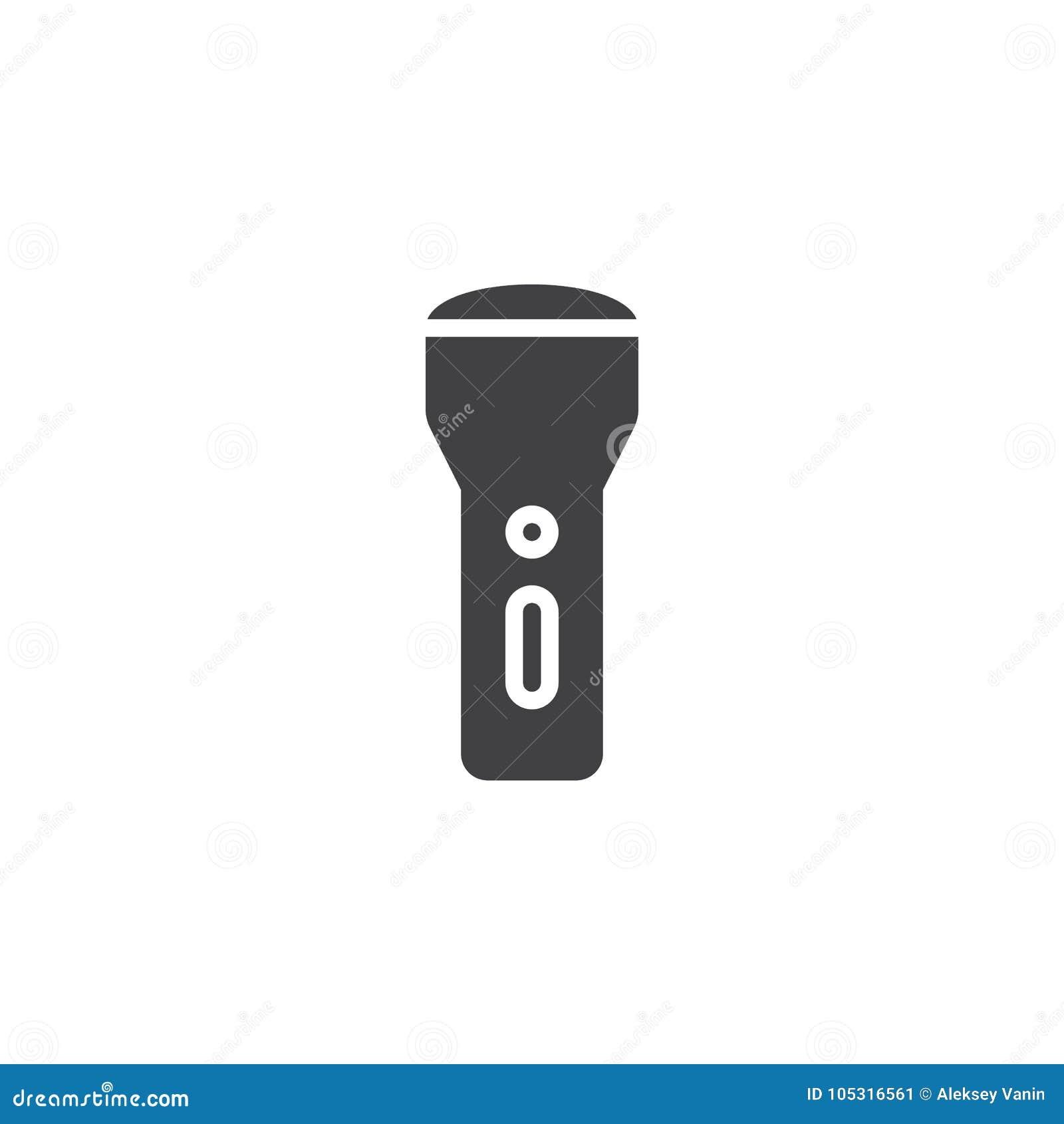 D'icône Illustration De Vecteur Lampe Torche Srtchqdx roBdxCe