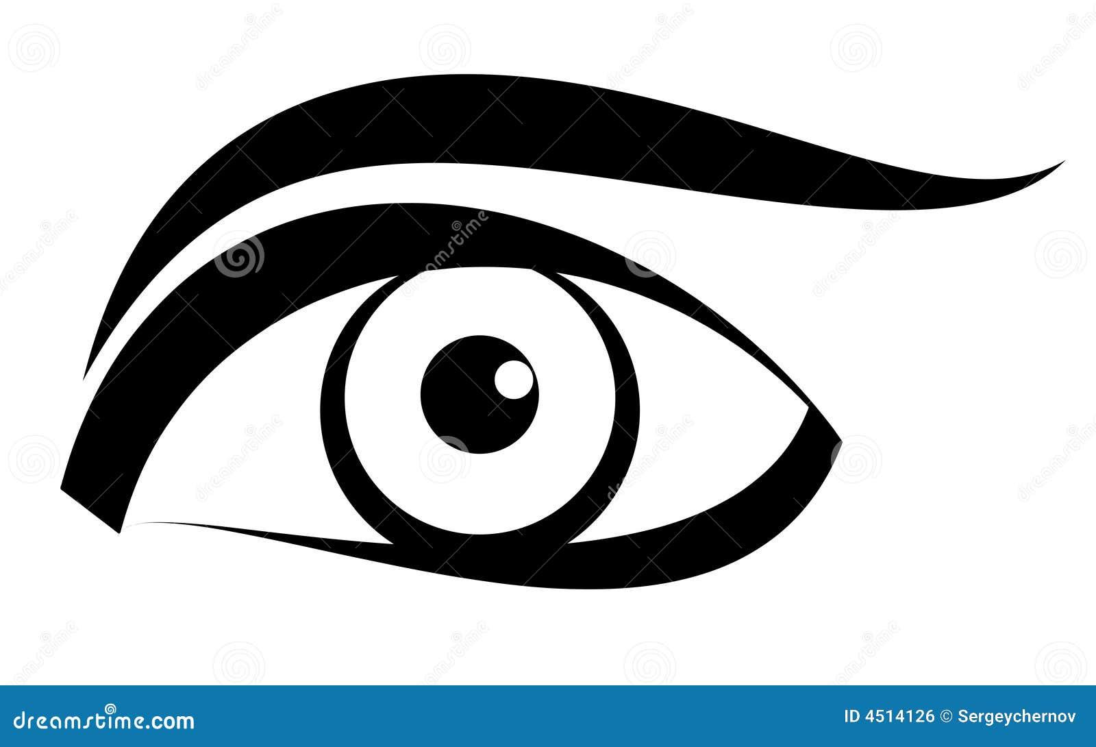 Vecteur d oeil