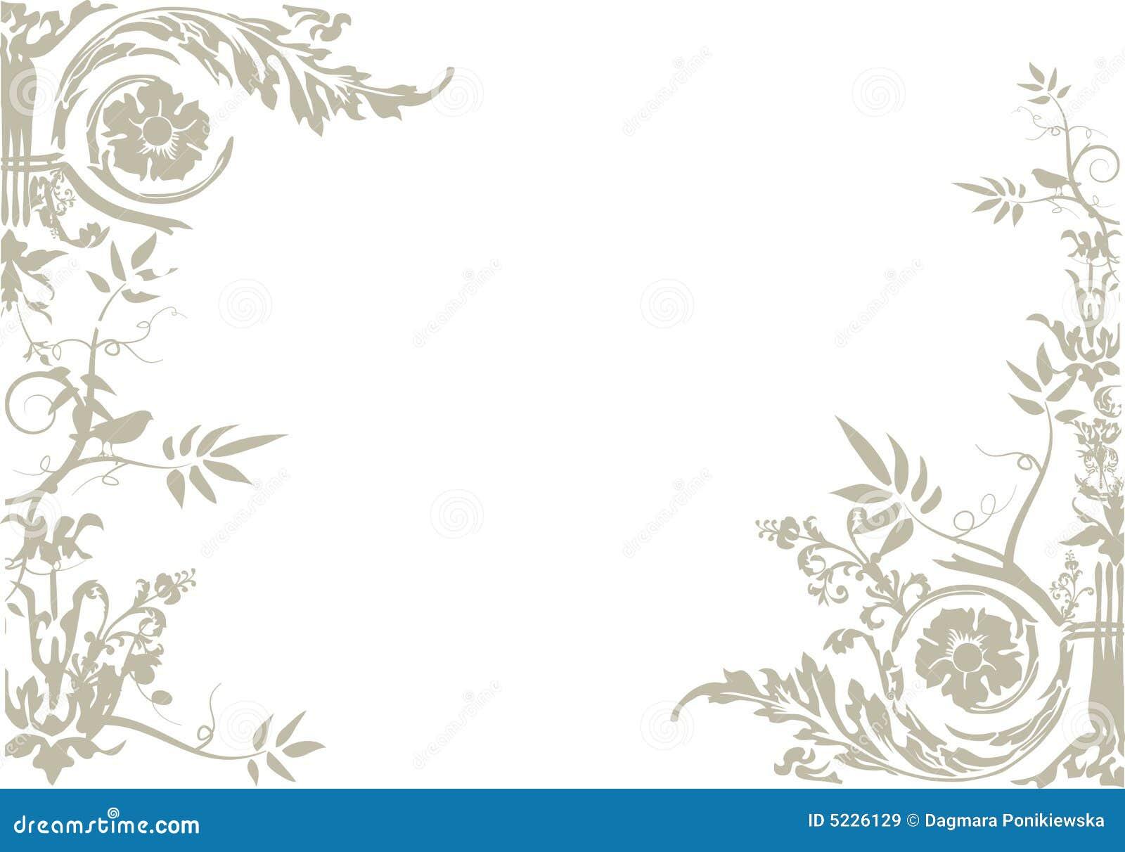 Vecteur d ornement floral